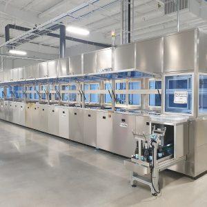 Mehrkammer Ultraschallanlage für die Medizintechnik