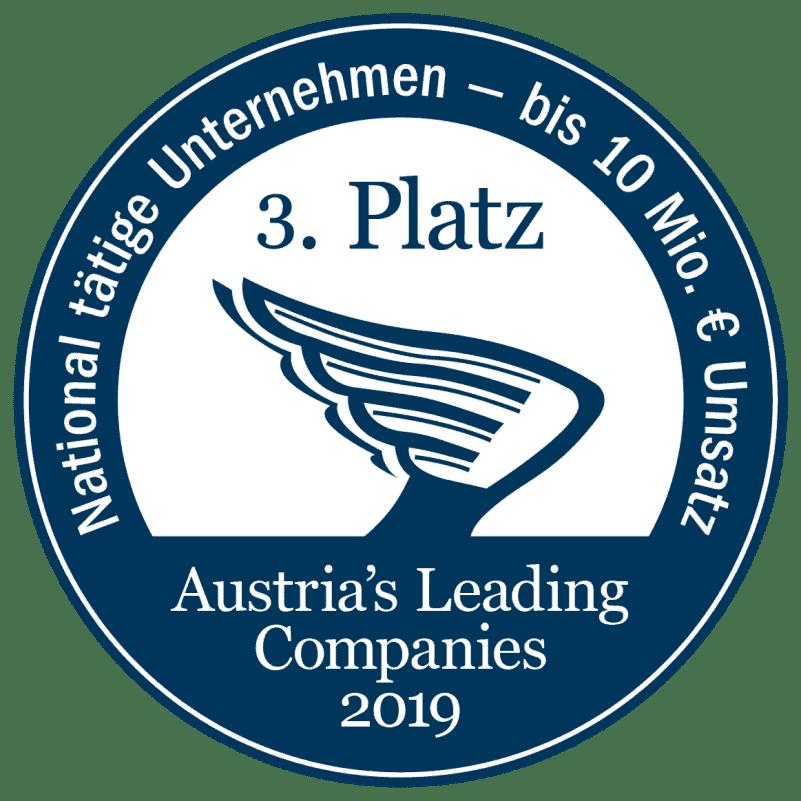 Austria´s Leading Companies 2019 3. Platz