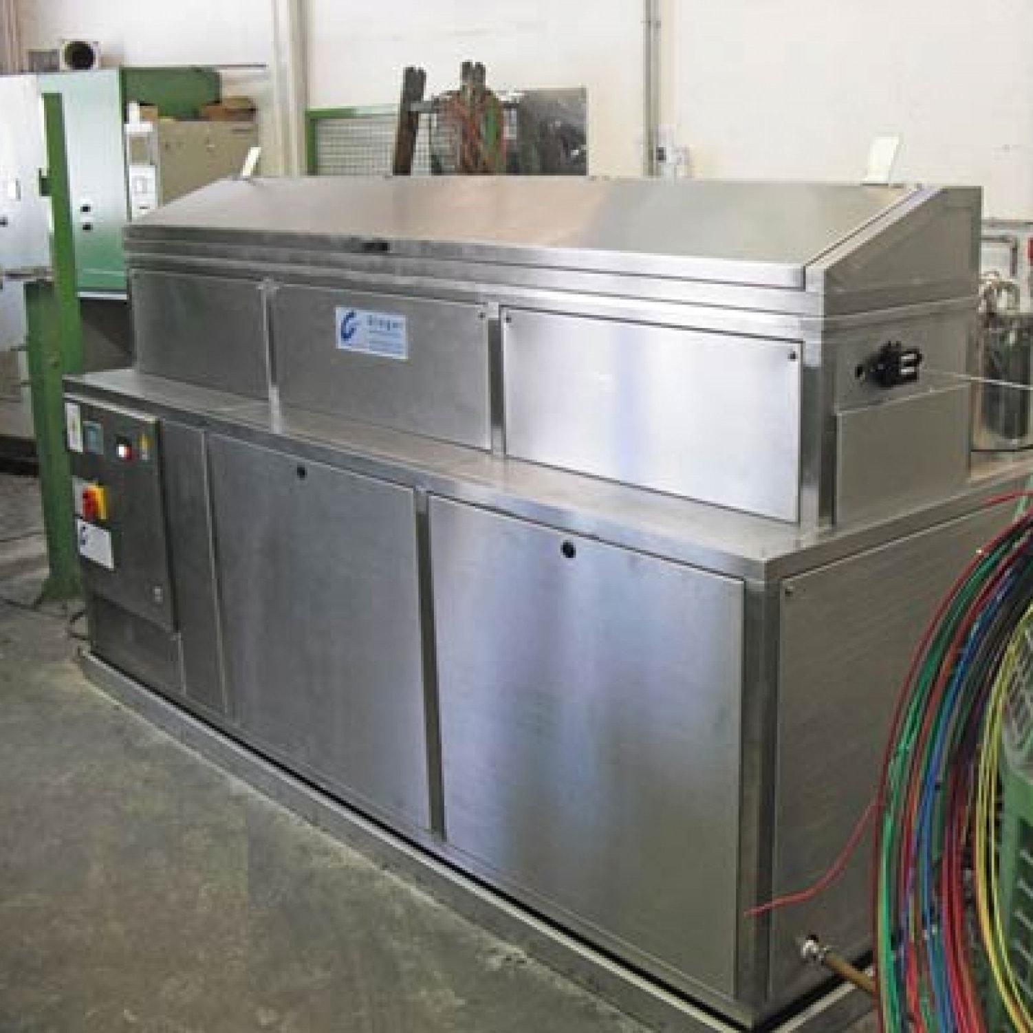 Durchlaufwaschmaschine