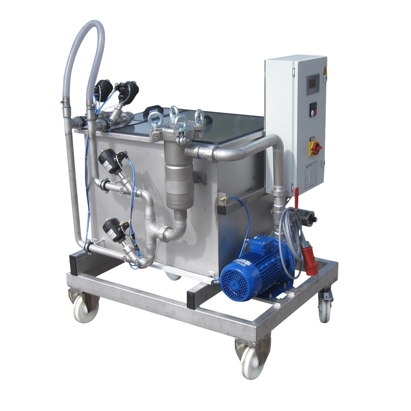 Entkalkungsgerät. Ölkühlerreinigungsgeräte