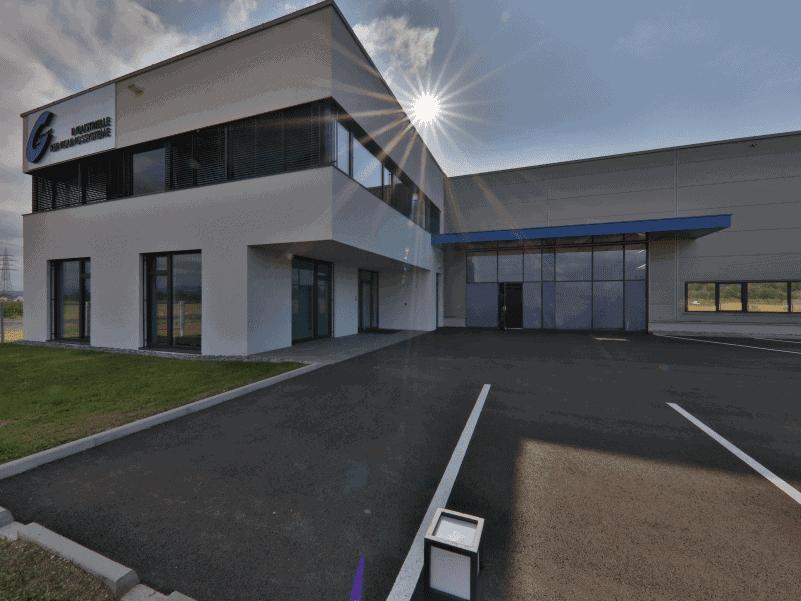 Firmengebäude Glogar Umwelttechnik Außenansicht