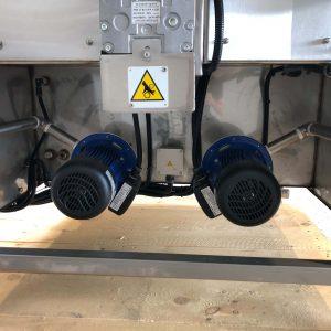 Heisswasser Teilereinigungsgeräte gebraucht Rückseite