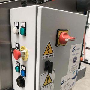 Hochdruck-Pinselwaschtisch HP 30 Schaltkasten