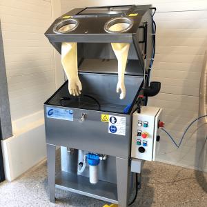 Hochdruck-Waschtisch gebraucht Komfort-Bedienung mittels Fußschalter