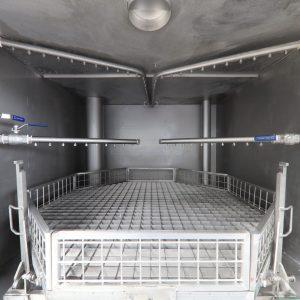 Metallreinigungsanlage CM13 Düsensystem