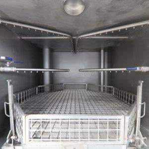 Metallreinigungsanlage Kammeransicht