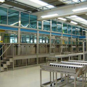Modulare, industrielle Reinigungsanlagen (Mehrkammersysteme)
