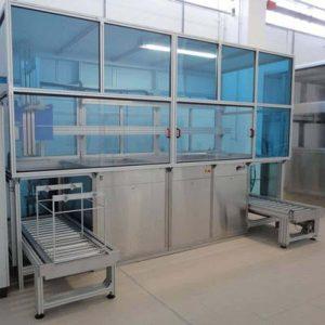 Modulare, industrielle Reinigungsanlagenn