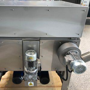 Motorkorbantrieb und Dampfschwadenabsaugung gebaucht