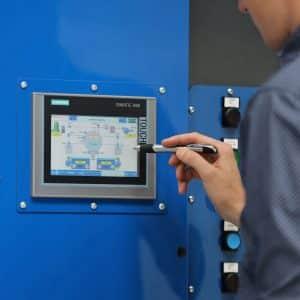 Präzisionsreinigung RH (V) Steuerung Siemens S7-1200 mit Touch-Panel KTP