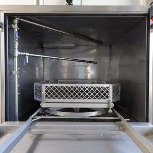 Reinigungsanlage L160KL Kammeransicht