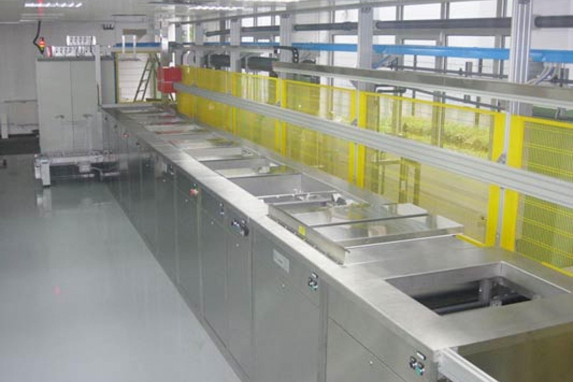 Reinigungsanlage Vorbehandlung PVD DLC Beschichten Mehrkammersysteme