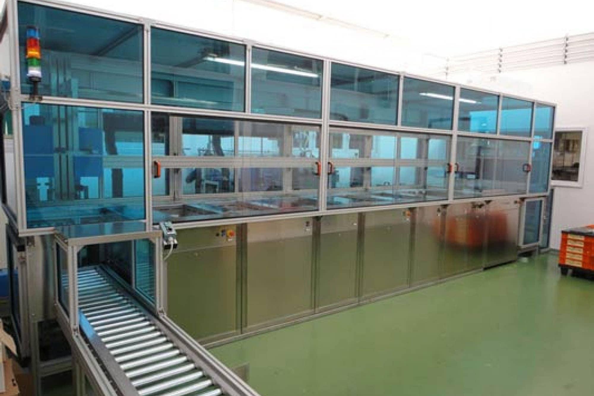 Reinigungsanlage Vorbehandlung PVD DLC Beschichten
