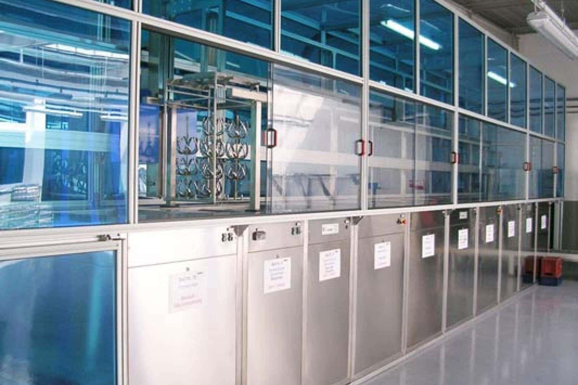 Reinigungsanlage Vorbehandlung PVD DLC für beschichtete Werkstücke