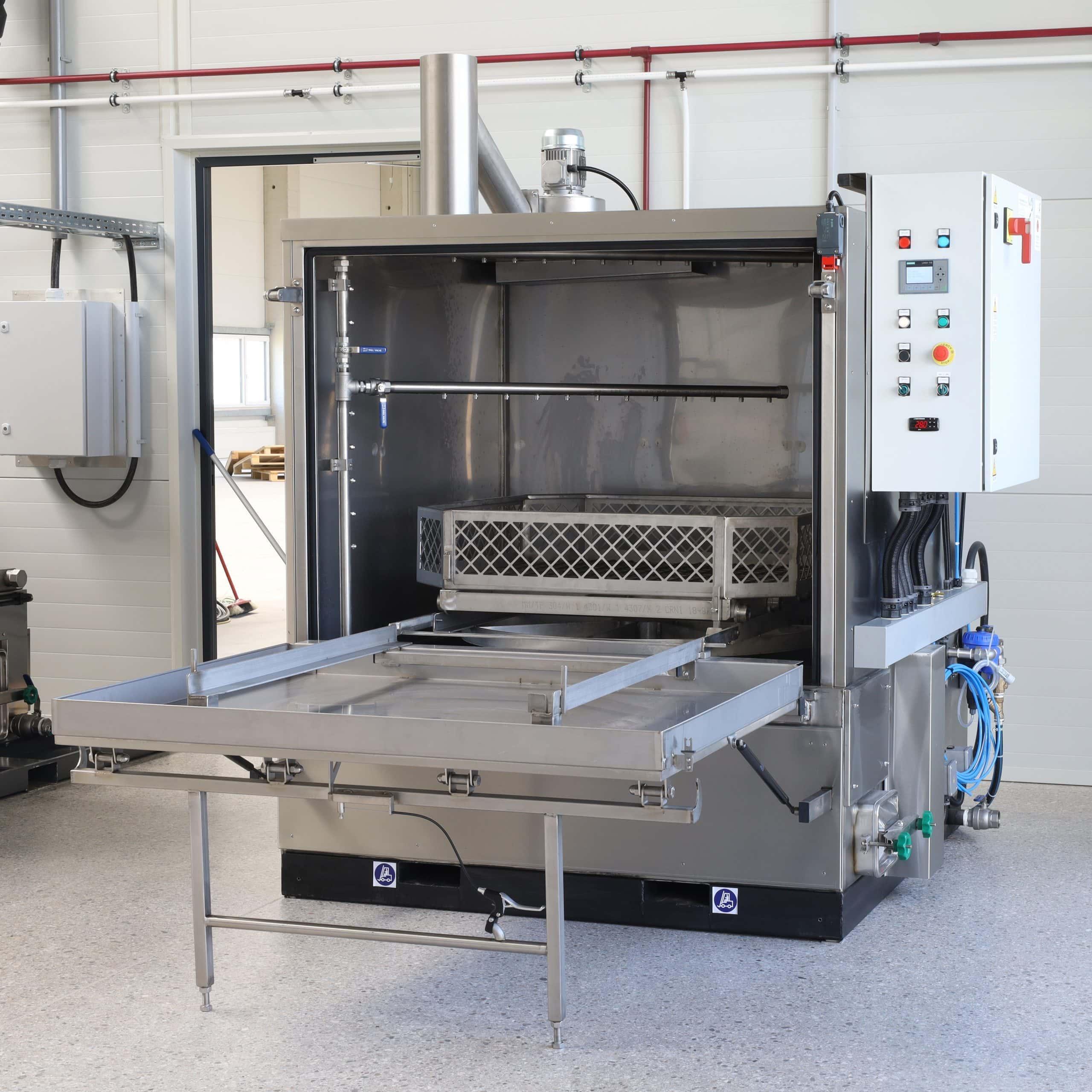 Reinigungsanlage für Metallteile gebraucht Glogar L160KL