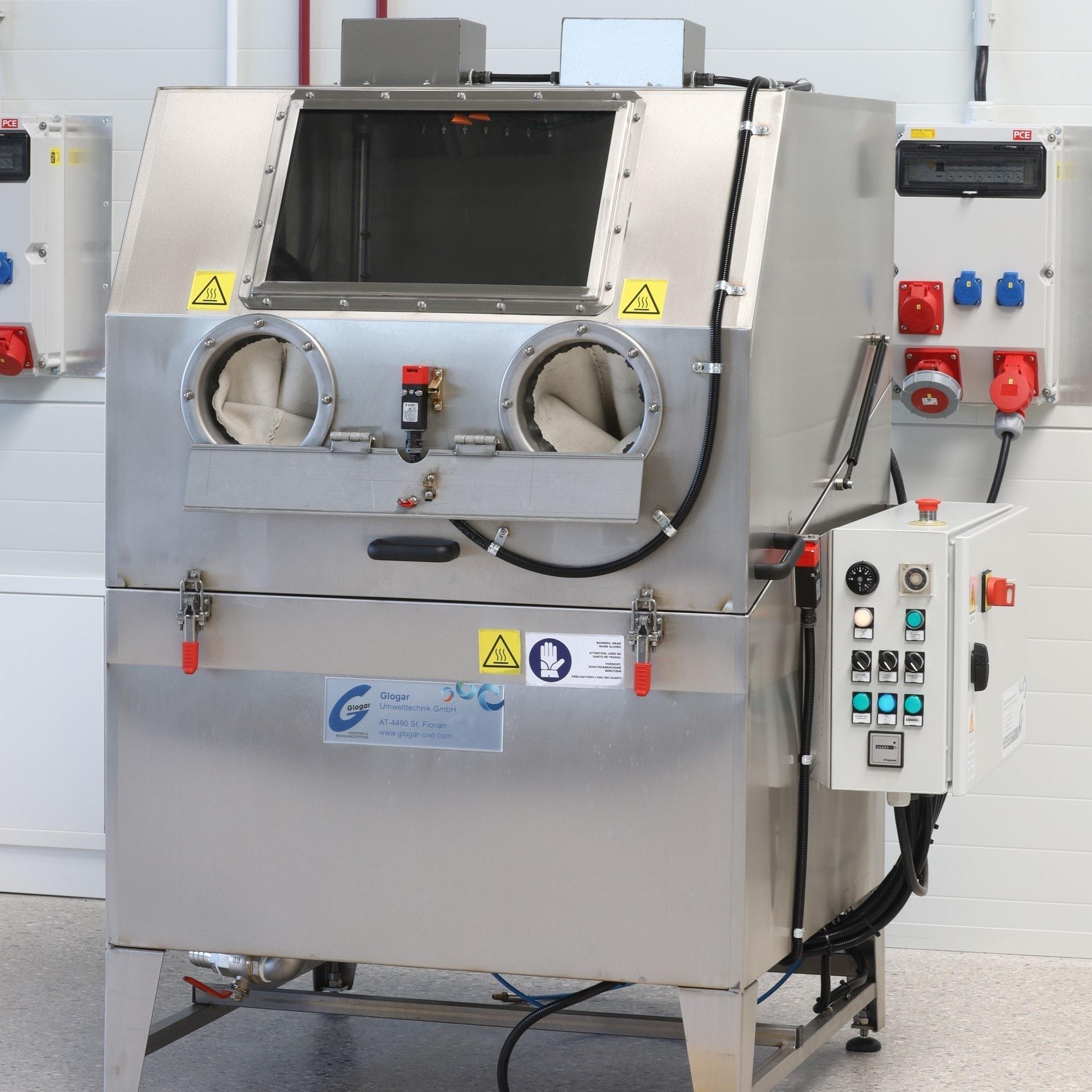 Teilereinigungsanlage gebraucht Glogar L102 HP