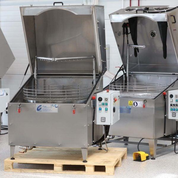 Teilereinigungsanlage gebraucht Glogar L102