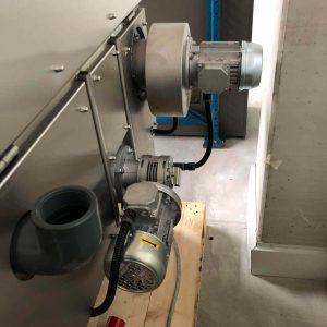 Teilewaschanlage gebraucht Dampfschwadenabsaugung