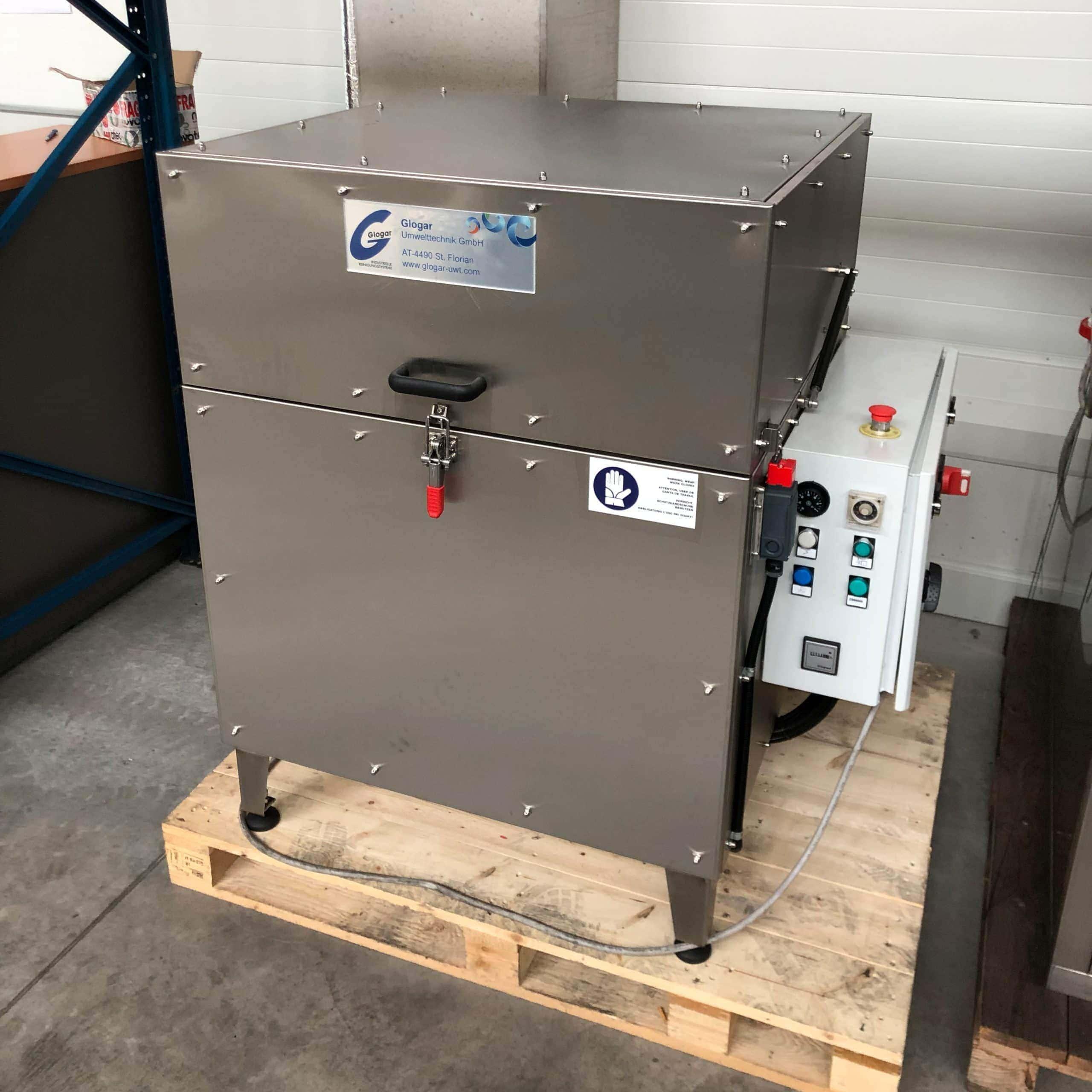 Teilewaschanlage mit Ölskimmer gebraucht Glogar L90