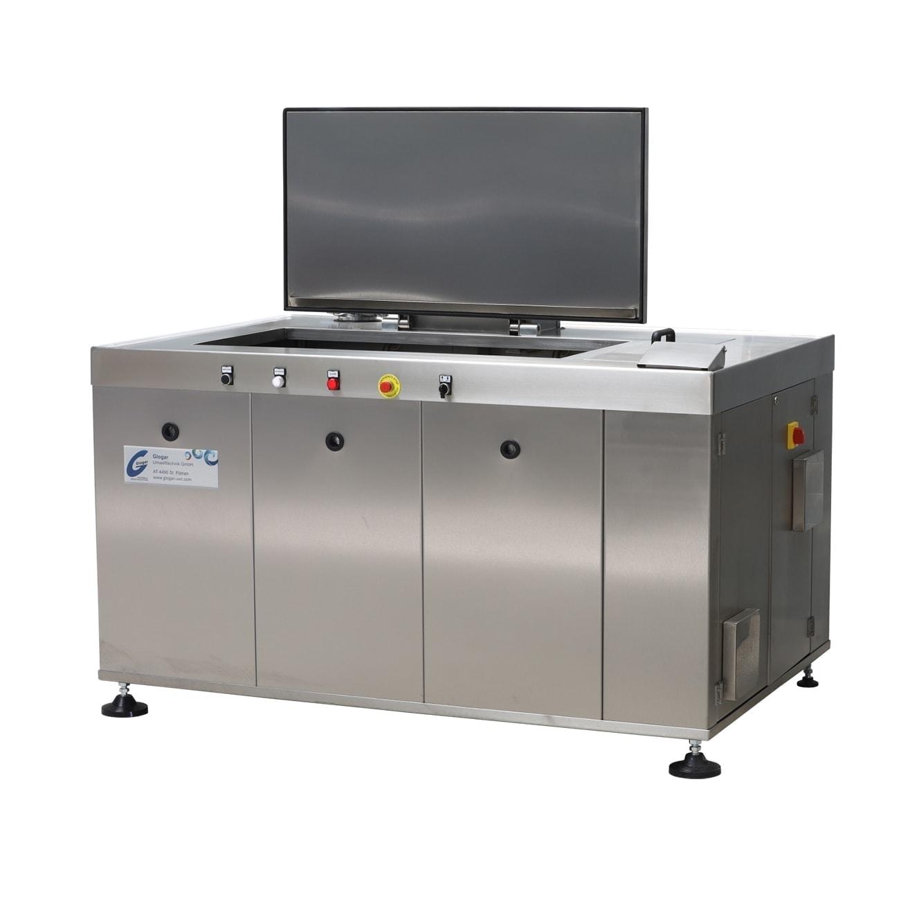 Ultraschall Waschmaschine mit Warenlifte & Ölabscheider