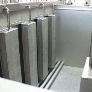 Ultraschallentfettung für Galvanotechnik Schwinger