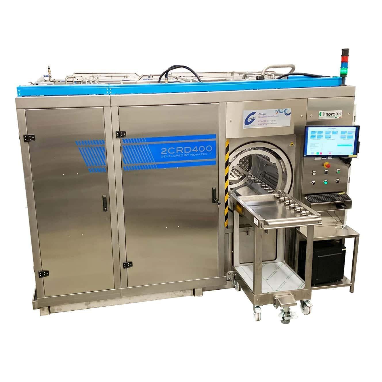 Ultraschallreinigungsanlage zur Feinstreinigung 2CRD