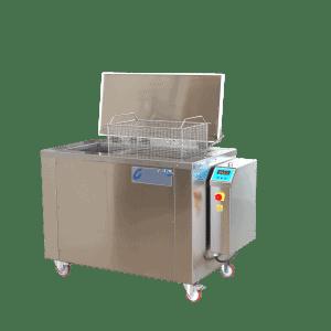 Ultraschallreinigungsgerät MU 90 DIS kann im Fertigungs- und Werkstättenbereich eingesetz werden