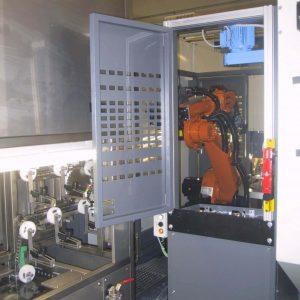Umlauf-Ultraschallanlagen Roboterbeladung