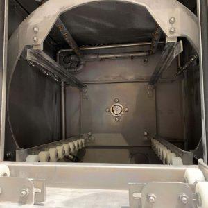 Ansicht Innenraum Teilereinigungsmaschine Rotocleaner EMS 600