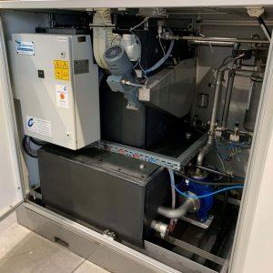 Ansicht Schaltkasten Ansicht Teilereinigungsmaschine Rotocleaner EMS 600