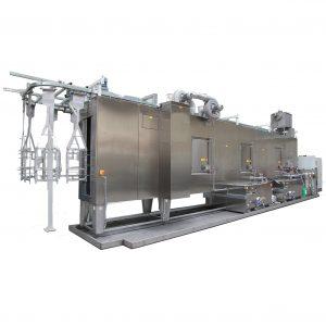 Durchlaufreinigungsanlage für Produktionsbetriebe, Automobilzulieferindustrie und Lakierbetriebe
