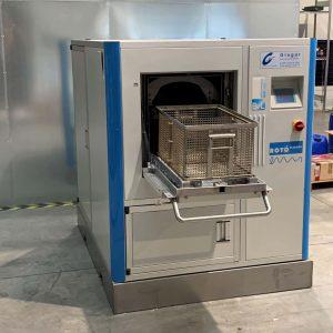Ansicht von rechts Teilereinigungsmaschine Rotocleaner EMS 600
