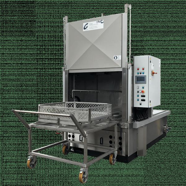 Mit den Metall-Entfettungsanlagen L210 bietet Glogar eine optimale Lösung zur Reinigung von großvolumigen Teilen